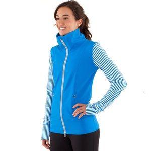Lululemon Daily Yoga Jacket Beaming Blue